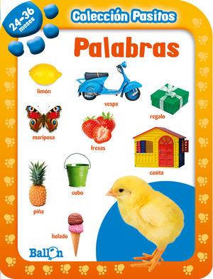 PASITOS 24-36 MESES PALABRAS