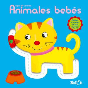 ANIMALES BEBÉS SIGUE EL CAMINO