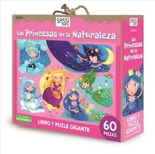 KIT LAS PRINCESAS DE LA NATURALEZA LIBRO + PUZZLE