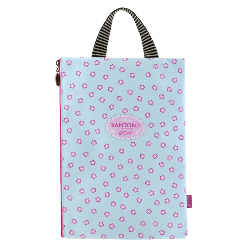 PORTATODO ESTUCHE A4 CON ASA GORJUSS FIESTA THE DREAMER SANTORO LONDON 927GJ02